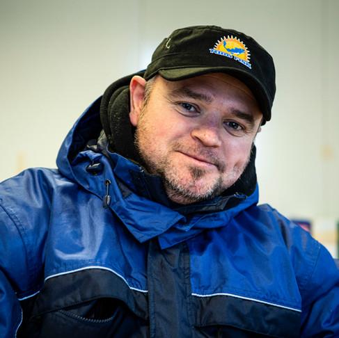 Ny bryggeformann; Marcin Telus