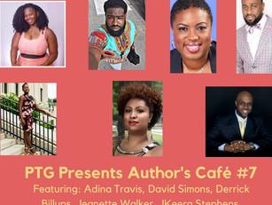 Author's Café 11/11/16 in Philadelphia