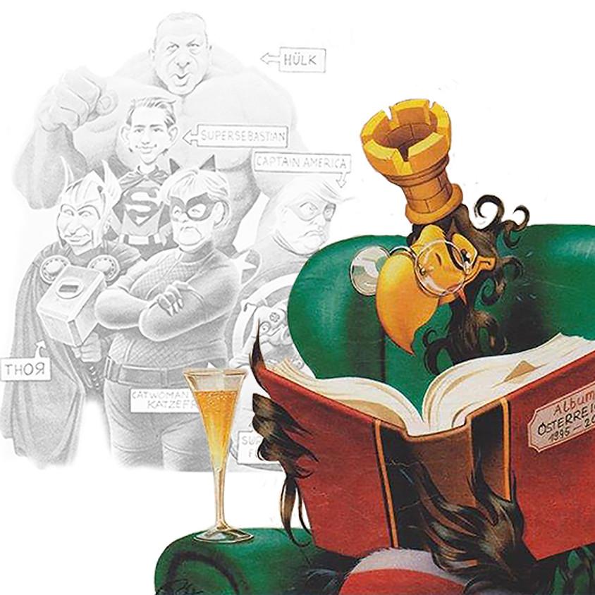 BRUNO HABERZETTL - Karikaturen aus 25 Jahren Krone bunt