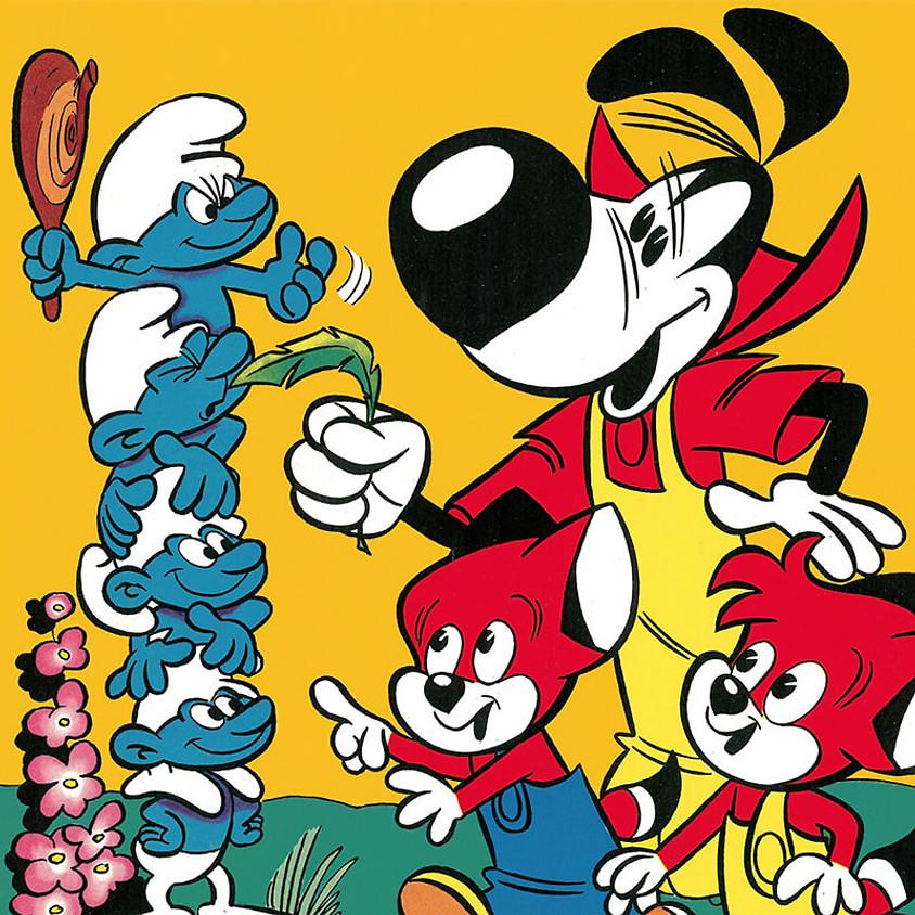 FIX & FOXI XXL: Die Entdeckung der Schlümpfe, Spirou und Lucky Luke