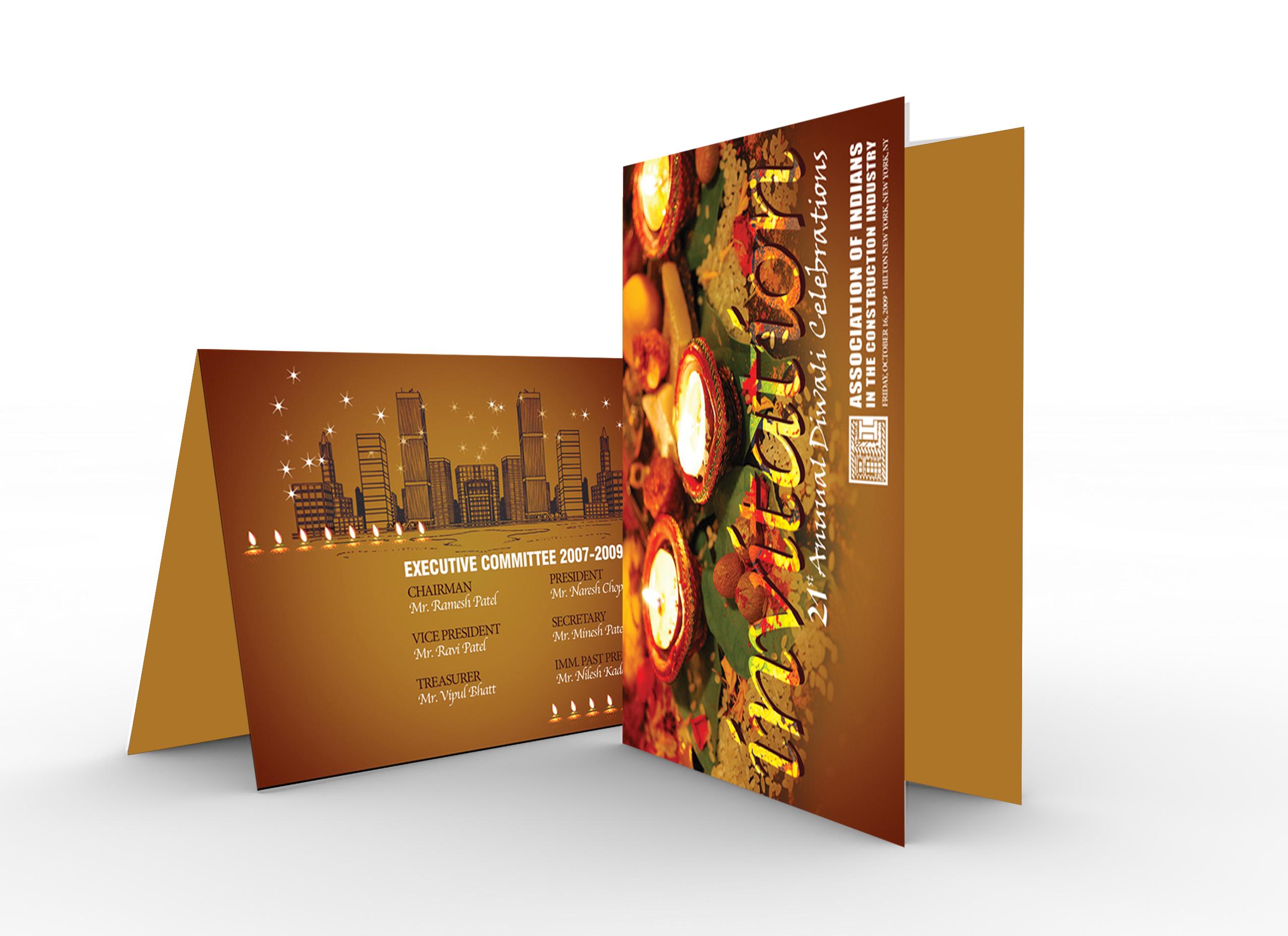 invitation diwali