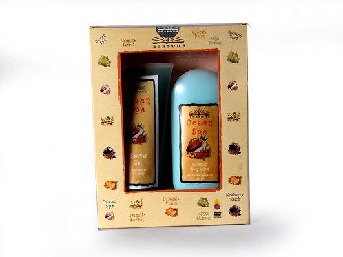 Estuche Silkening + Shower Gel Ocean Spa - 4 Seasons
