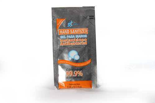 Sachet Gel Desinfectante e Hidratante de Manos