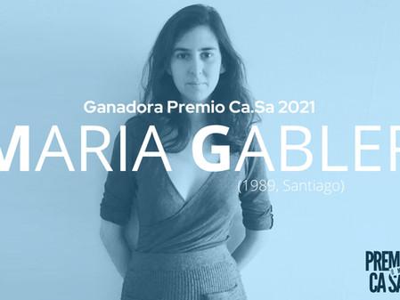 María Gabler ganó el Premio Ca.Sa 2021
