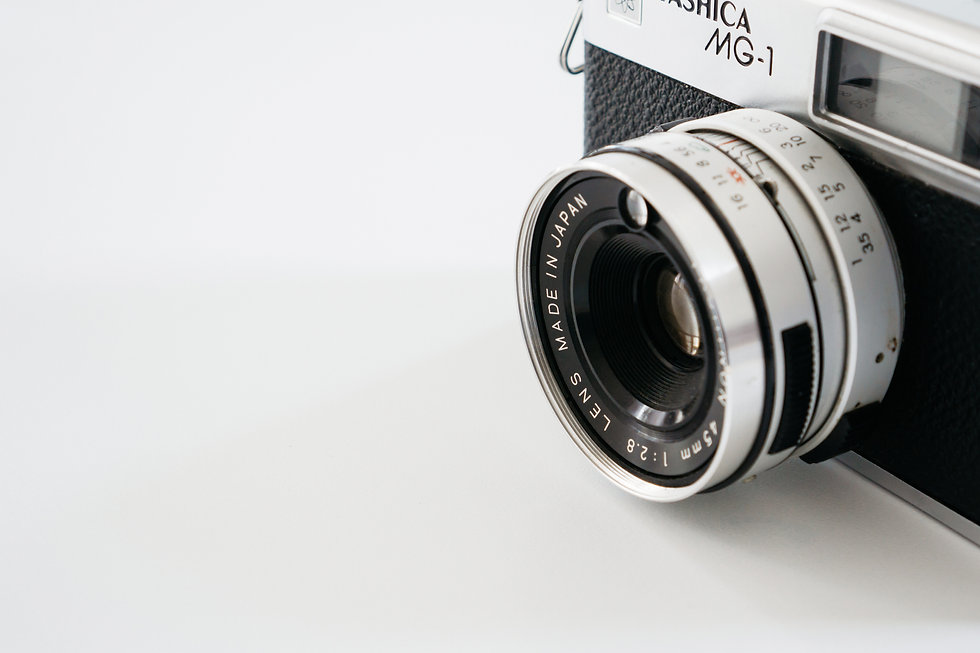close-up-vintage-camera-white-background