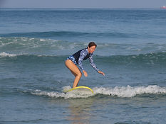 surfing, surf, lesson, lessons, beach, women surf, sdot ya, israel, caesarea