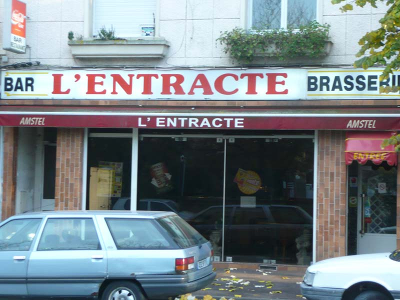 TRAITEUR-restaurant L'entracte