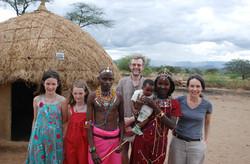 Channer family in Kenya