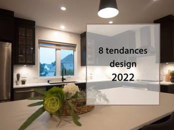 8 Tendances design 2022