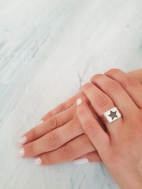 טבעת STARING- כסף 925