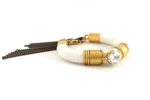 צמיד VENUS - זהב ולבן
