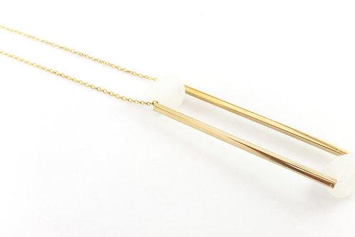 שרשרת VERTIGO- זהב ולבן