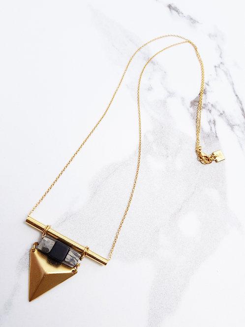 שרשרת VINA- זהב ושחור