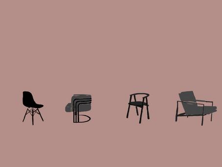 4 différents styles de décoration d'intérieur illustrés