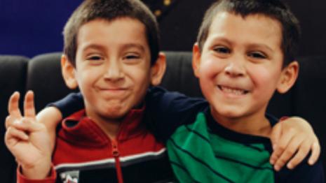 Foster Children Highlight: James and Santiago
