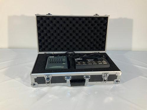 Pack console DMX 6 canaux splitter 2 DMX