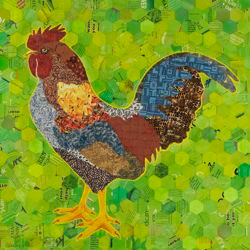 Green Rooster_