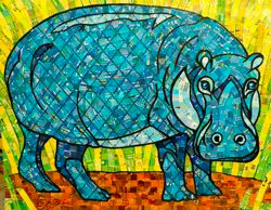 Blue Hippo_
