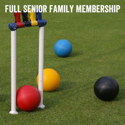 Full Senior Family Membership (Age 70+)*