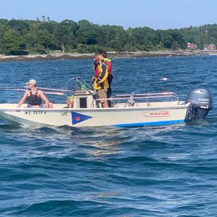 Race Committee Boat
