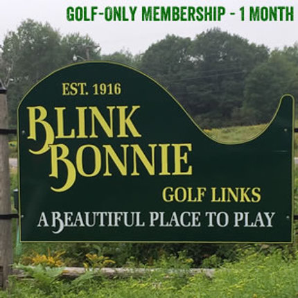 Golf-Only Membership - 1 Month