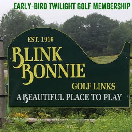 Early Bird Twilight Golf Membership