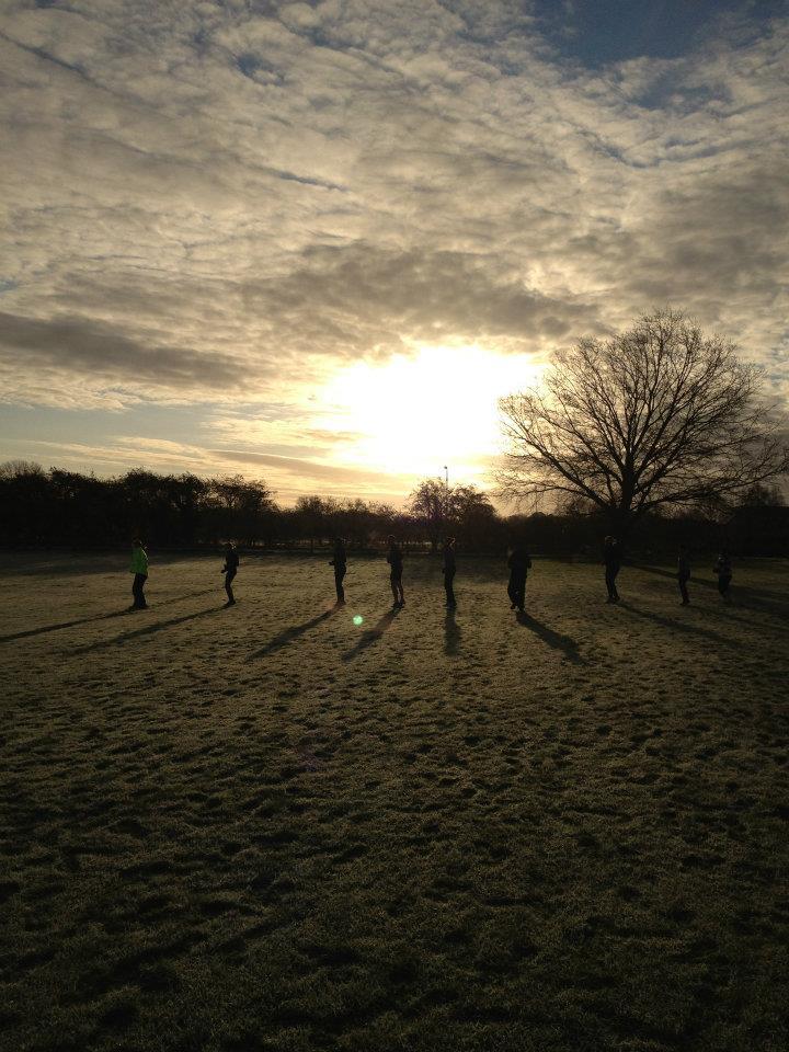 Wintery Workout