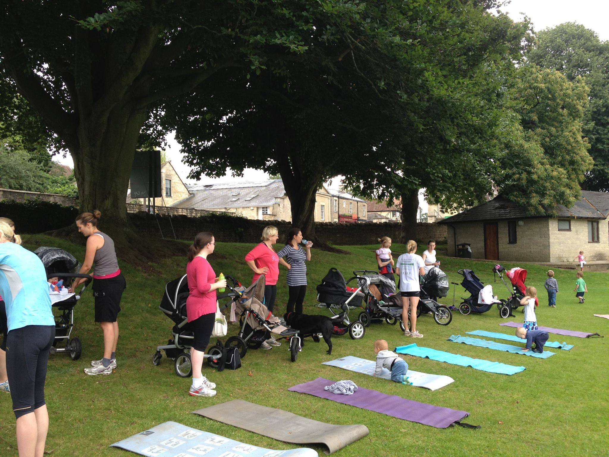 Post Natal Outdoor Class