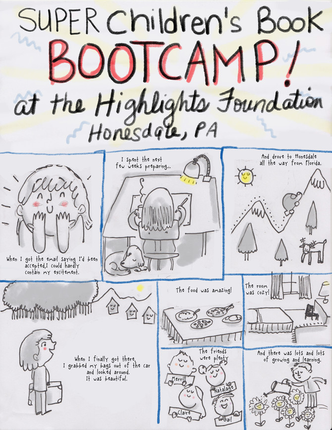 Super Children's Book Boot Camp at the Highlights Foundation