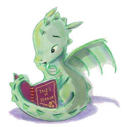 Giclee Print: Dragon