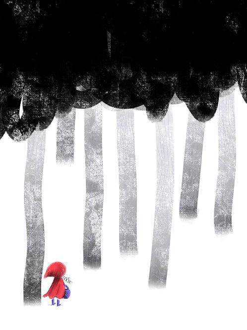 Giclee Print: Red Hood
