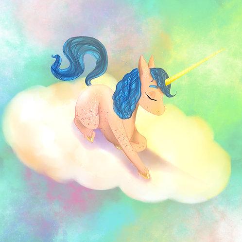 Giclee Print: Unicorn