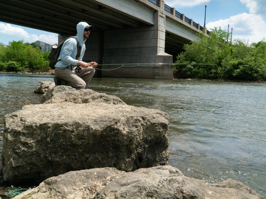 A Guide to Urban Fly Fishing