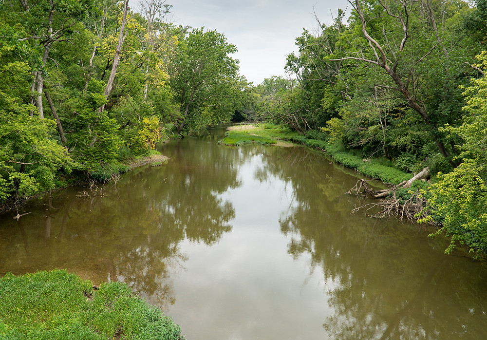Fishing Big Darby Creek
