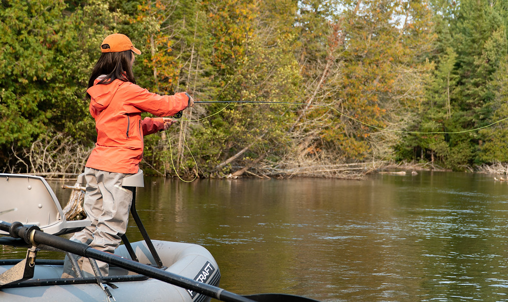 Fly Fishing AuSable Michigan