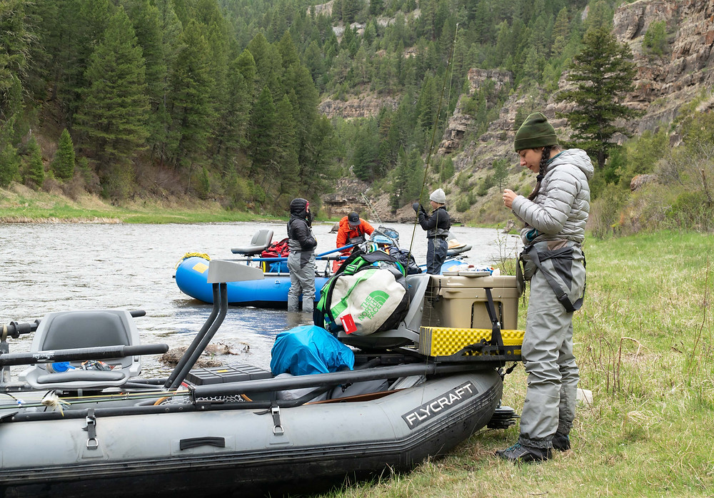How to plan a multi-day fly fishing rafting trip