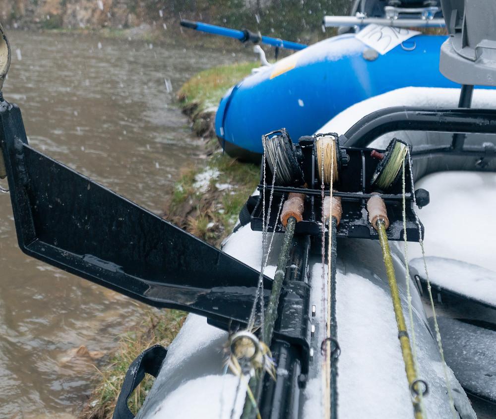 Multi-day fly fishing rafting trip