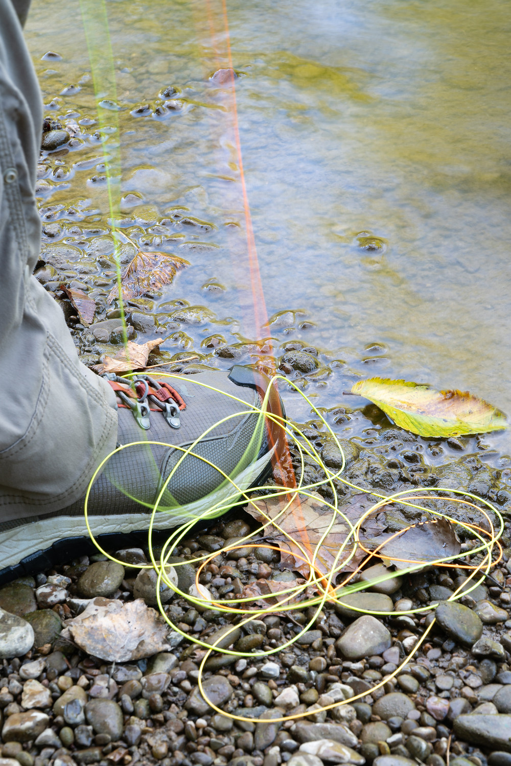 Urban fly fishing clothing and gear