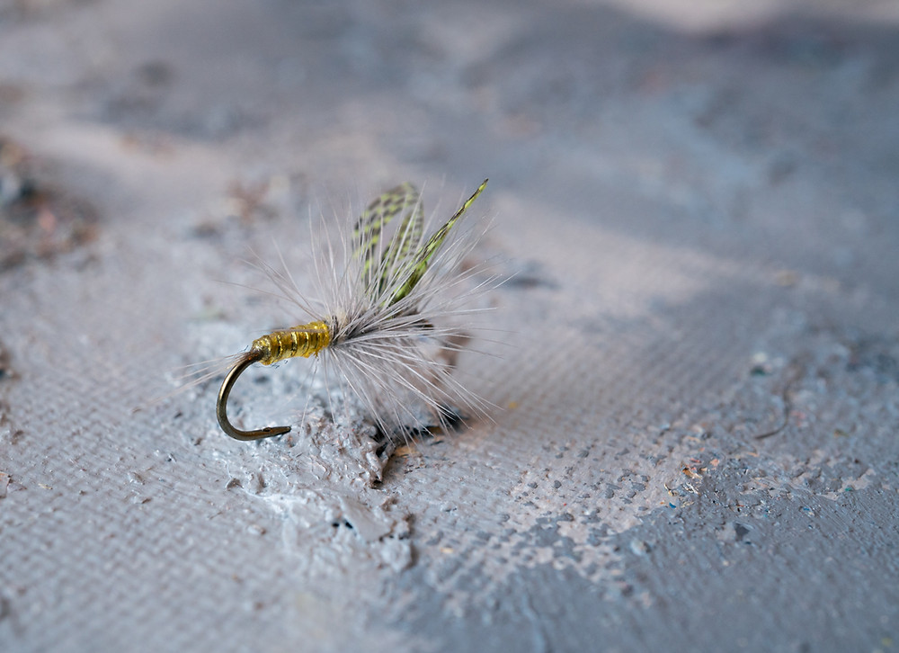 fly tying wood duck substitute