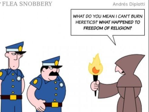 Religious freedom or hate speech?