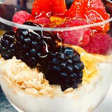Berry Fruits Parfait