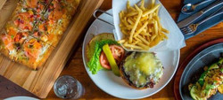 Pizza | Burger | Grilled Octopus