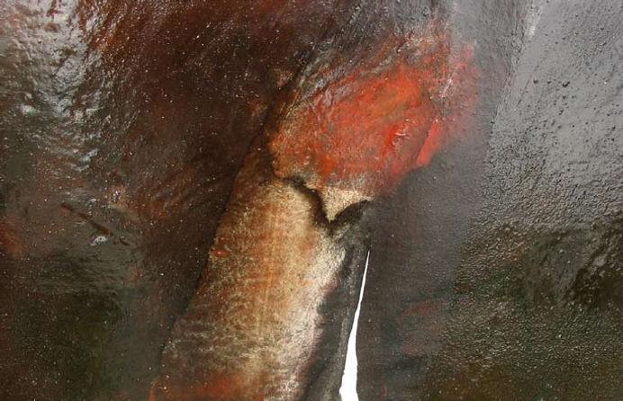 untitled (night map) gimli series, no. 4 (detail)
