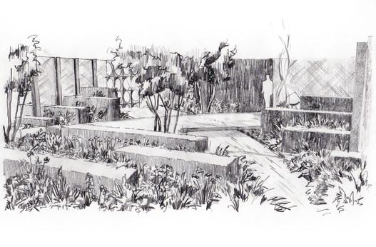 Studio RS - Show Garden illustration