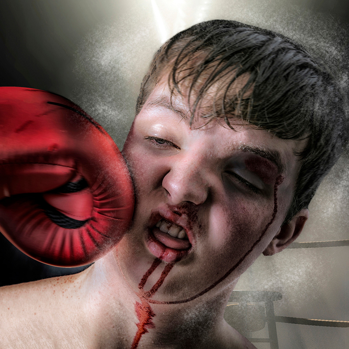 'Knock Out' by William Allen (8 marks)  -  City of Belfast Photographic Society
