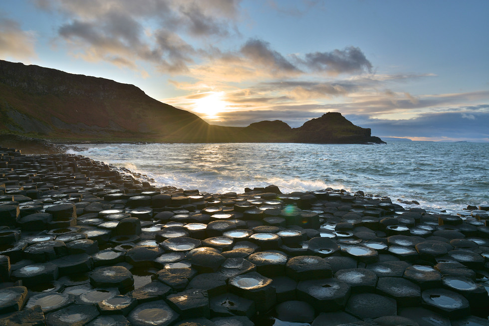 'Giant's Causeway' by Gary Donaldson ( 9 marks )