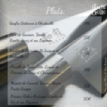 plats restaurant français lorient au bouche à oreille