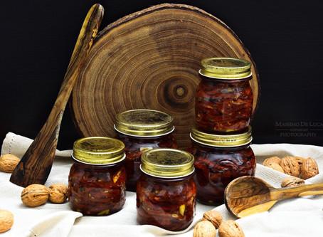 Pomodori secchi sott'olio... come farli teneri e saporiti