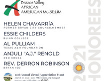 BRAZOS VALLEY AFRICAN AMERICAN MUSEUM20th Annual Virtual Appreciation Event