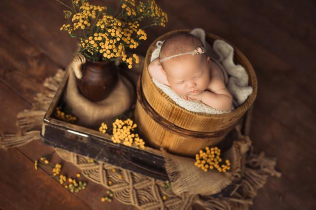 Sesja zdjęciowa rodzinna noworodkowa Chełm lubelskie